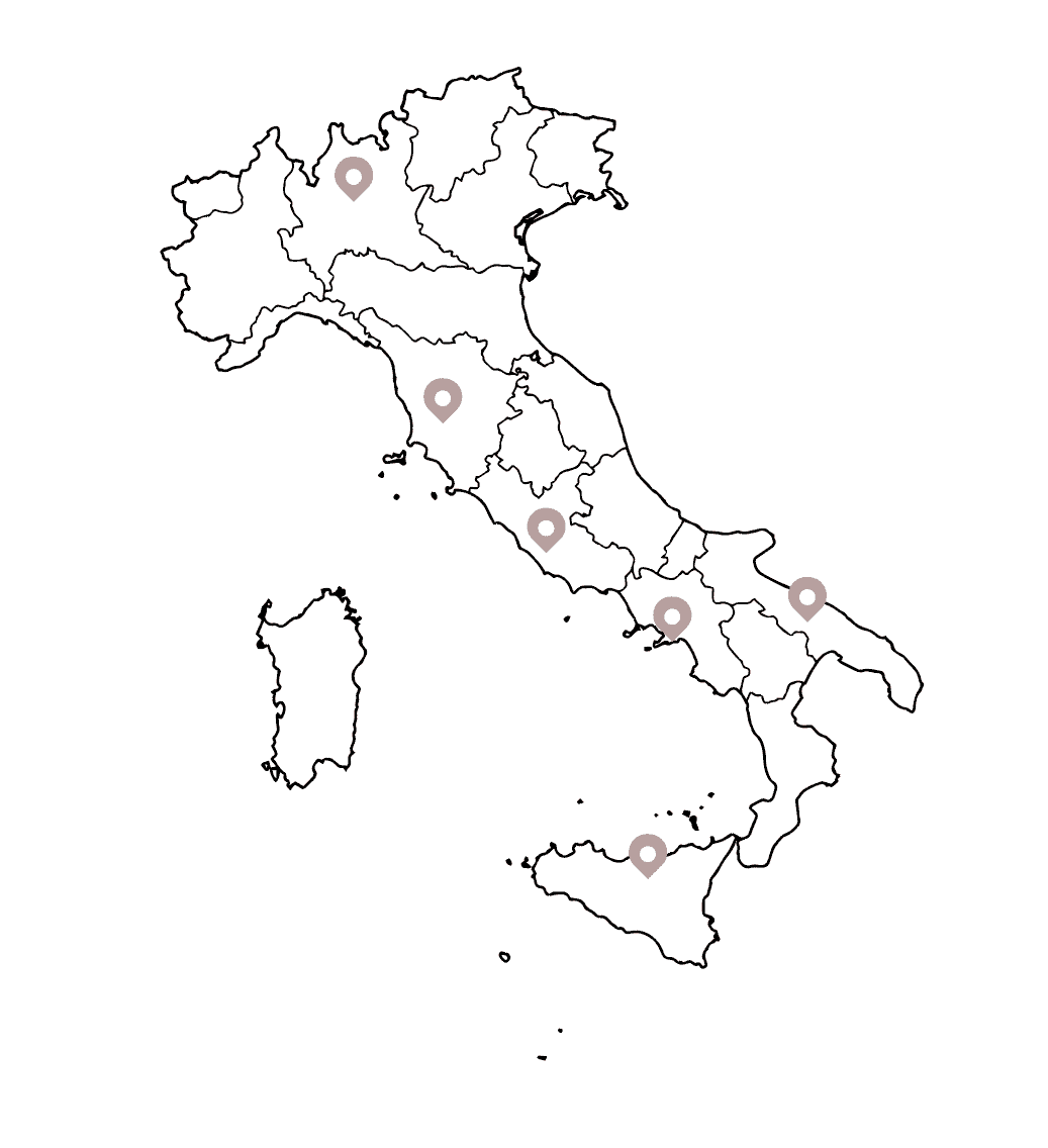 VB Events Map of Italy