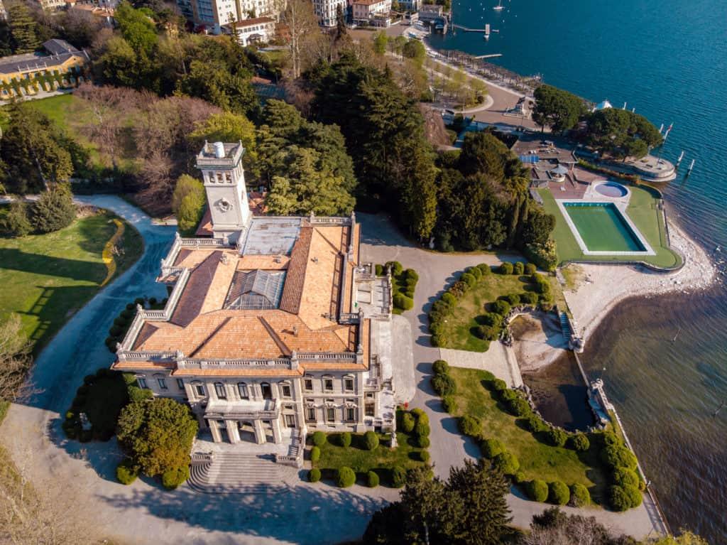 Villa Erba wedding location