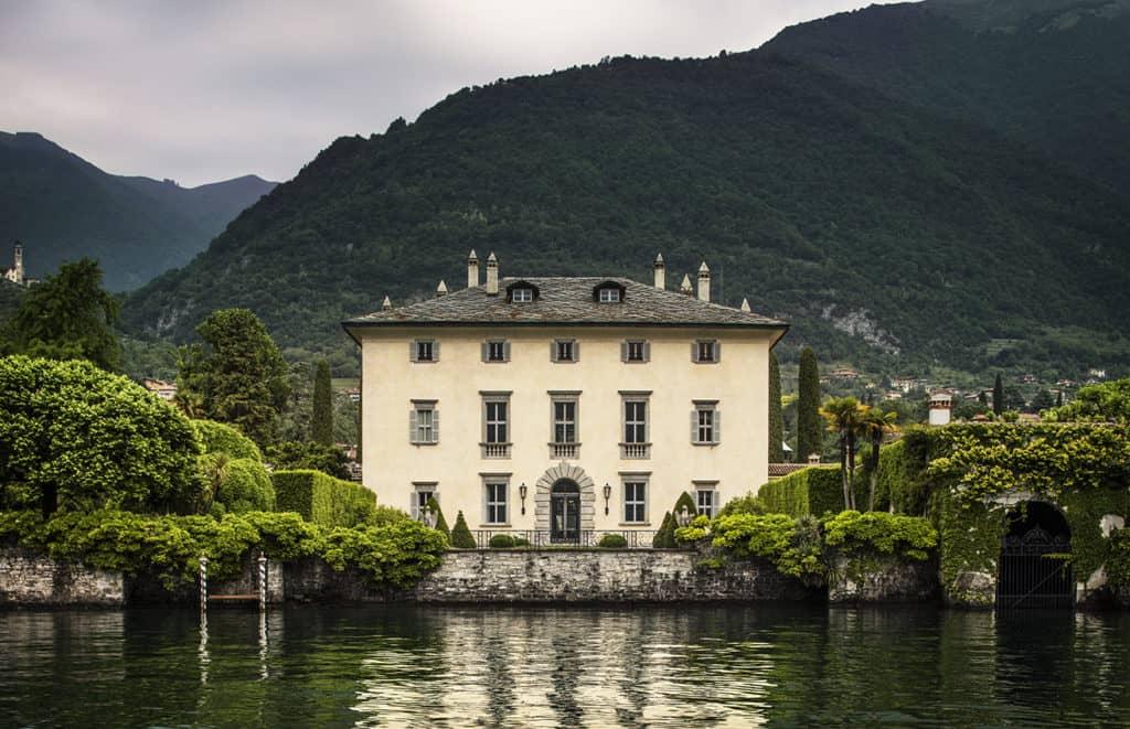 Villa Balbiano on Como Lake